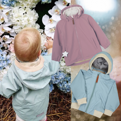 Soft shell jackets for kids