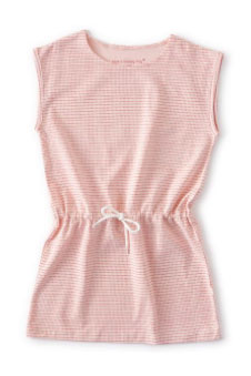 Little Label sun dress in pink
