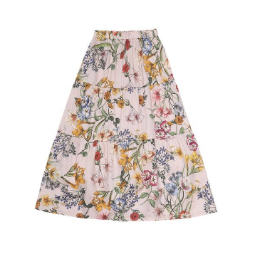 girls long skirt summer