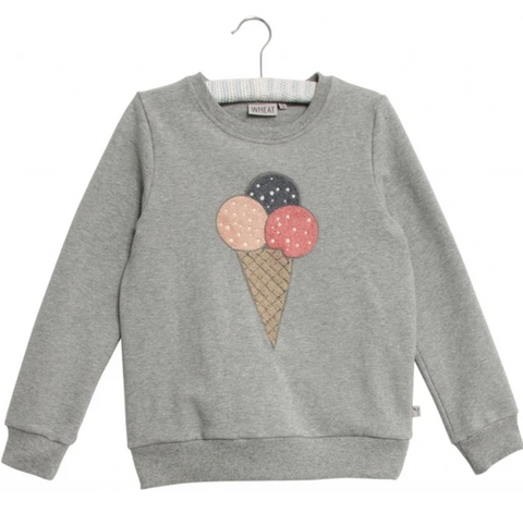 Ice cream sweatshirt by Wheat