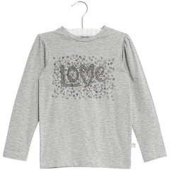 Wheat long sleeve t-shirt Love