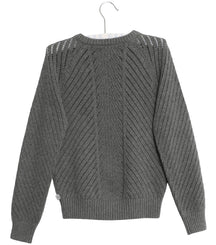 Wheat pullover Vega in grey