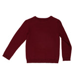 Ebbe sweater Rune in deep red