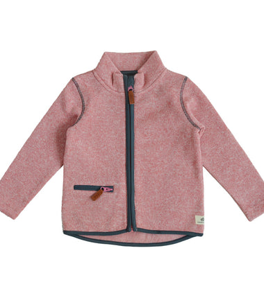Ebbe knitted fleece Dash in dove pink