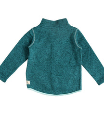 Ebbe knitted fleece Dash in dusty green