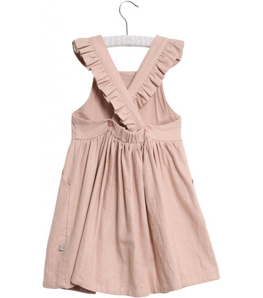 Wheat dress Anni in vintage rose