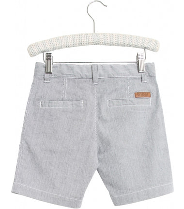 Wheat shorts Mingus with grey blue stripes