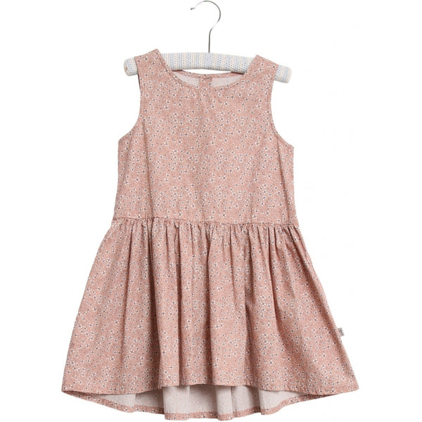 Wheat dress Sarah in misty rose