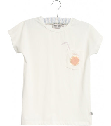 Wheat t-shirt Pink Orange