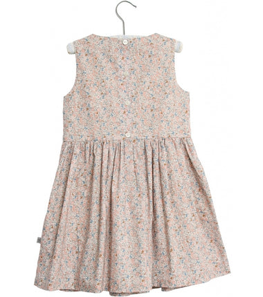 Wheat dress Thelma in rose flowers