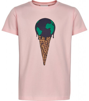 The New t-shirt Ice cream in pink