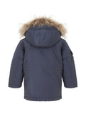 Ver de Terre eskimo jacket boys in navy
