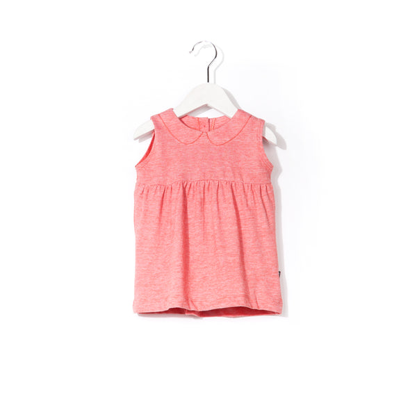 Imps & Elfs sleeveless summer dress love red stripes