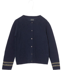 MINI Q TURE cardigan Frances in sky captain blue