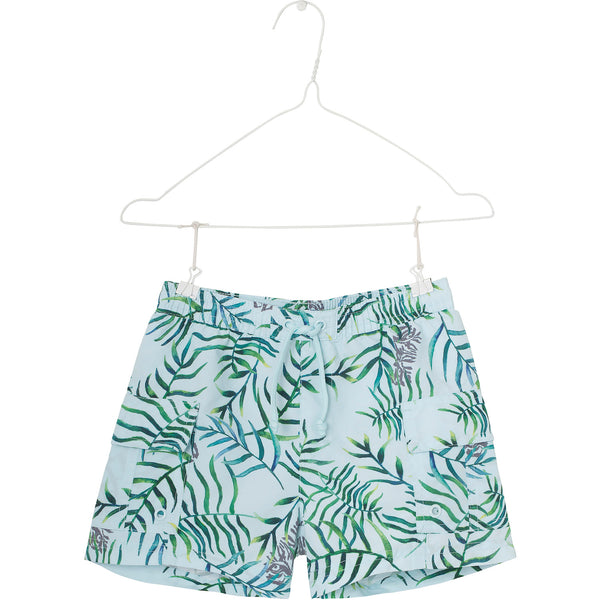 MINI A TURE swim shorts Mateo in omphalodes blue