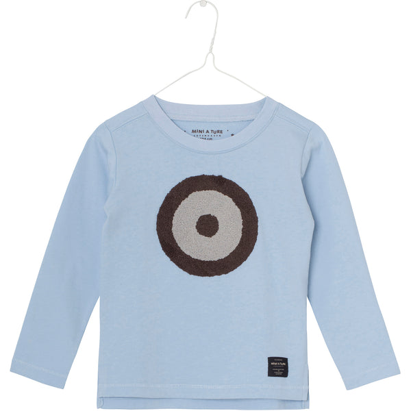MINI A TURE long sleeve t-shirt Apollo in cashmere blue