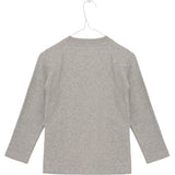 MINI Q TURE long sleeve t-shirt grey dog
