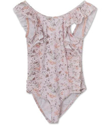 MINI A TURE swimsuit Delicia in pink flower print