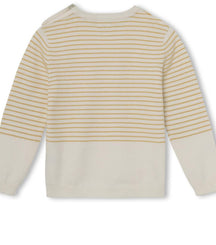 MINI A TURE knitted sweater Berd in narcissus yellow