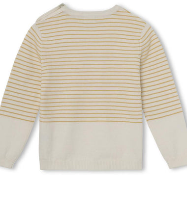 MINI A TURE knitted sweater Berd in narcissus