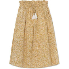 MINI A Ture skirt Silla in narcissus yellow