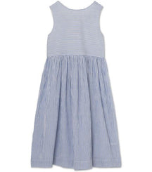 MINI A TURE dress Tasja in ashley blue stripes