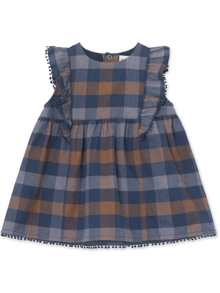 MINI A TURE dress April in checkered blues