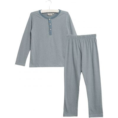 Wheat boys pyjamas in dusty blue