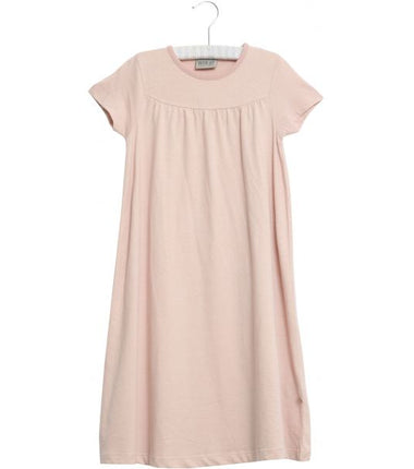 Wheat short sleeve nightgown in dark rose