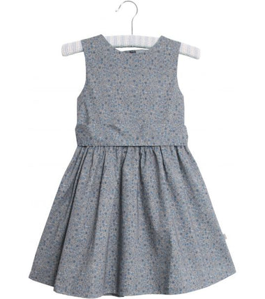 Wheat dress Oda in dove