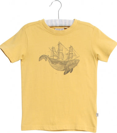 Wheat t-shirt Whale
