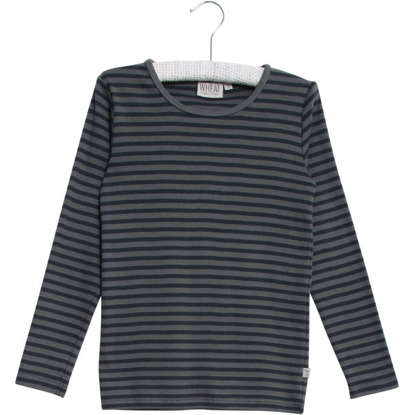 Wheat long sleeve t-shirt Striped Turbulence