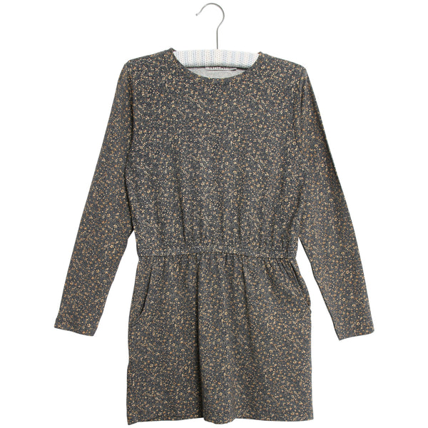 Wheat dress Odile in grey