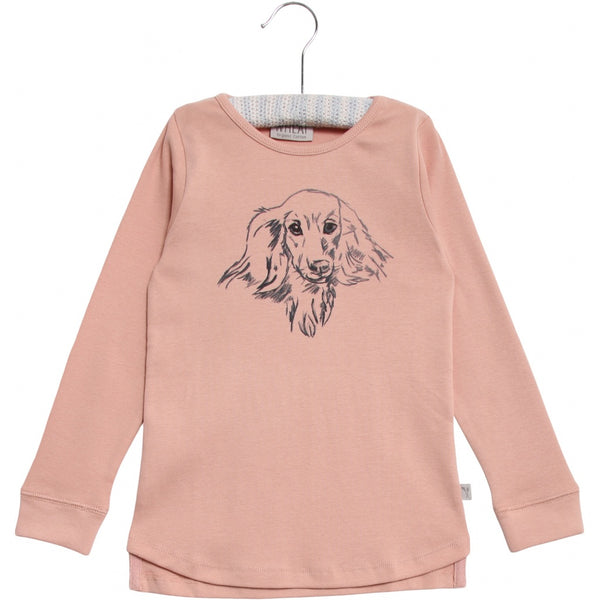 Wheat long sleeve t-shirt Dog