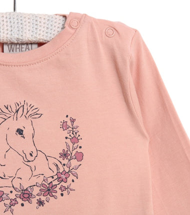 Wheat long sleeve t-shirt Foal