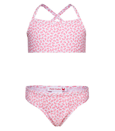 Petit Crabe bikini Louise in rose pink