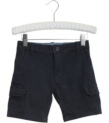 Wheat shorts cargo Eber in navy