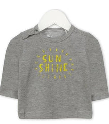 Imps & Elfs long sleeve t-shirt Sun Shine in grey