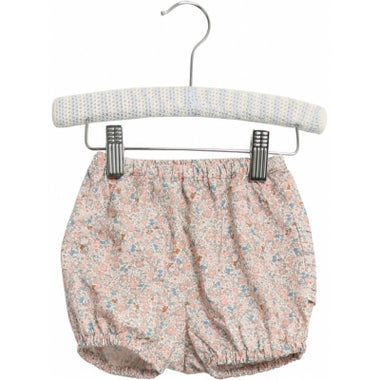 Wheat nappy pants Pleats in rose flowers