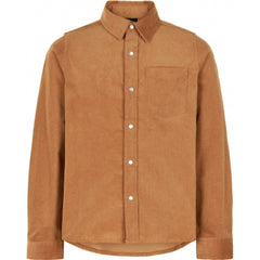 The New corduroy shirt Roy in cognac