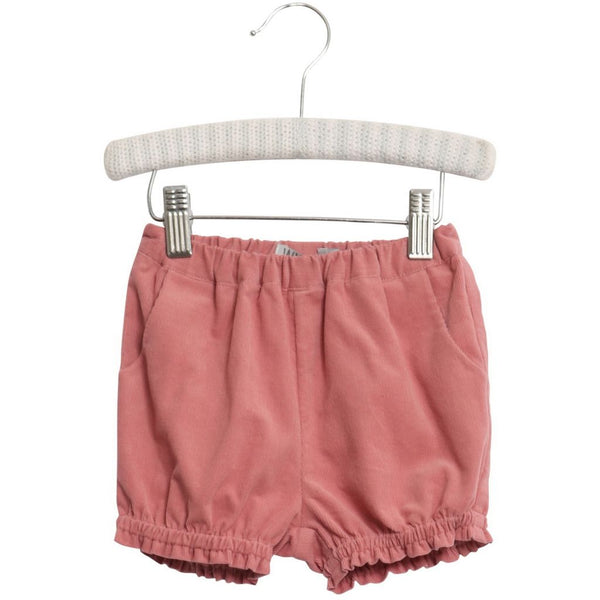 Wheat shorts Inga in peach rose corduroy