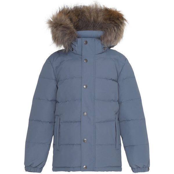 Ver de Terre down jacket in polar blue