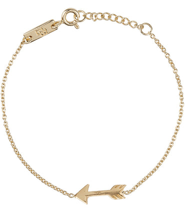 Lennebelle Petites You give me direction daughter bracelet in gold