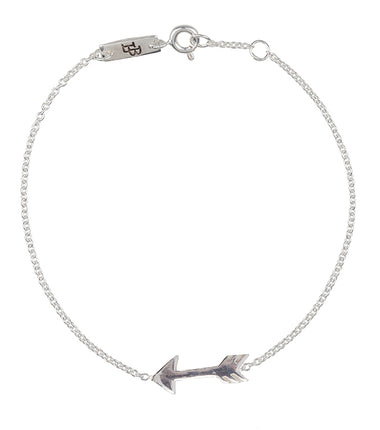 Lennebelle Petites You give me direction mother bracelet in silver