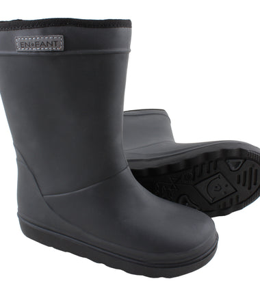 Enfant thermo winter wellies in black