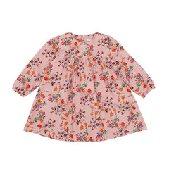 Christina Rohde baby dress in vintage pink flower print