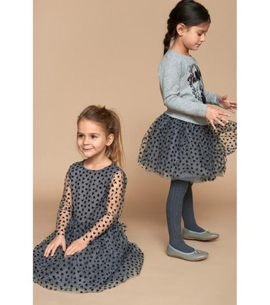 Wheat skirt Tulle Minnie Mouse in grey