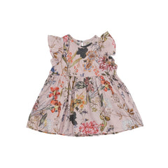 Christina Rohde baby dress with pink flowers