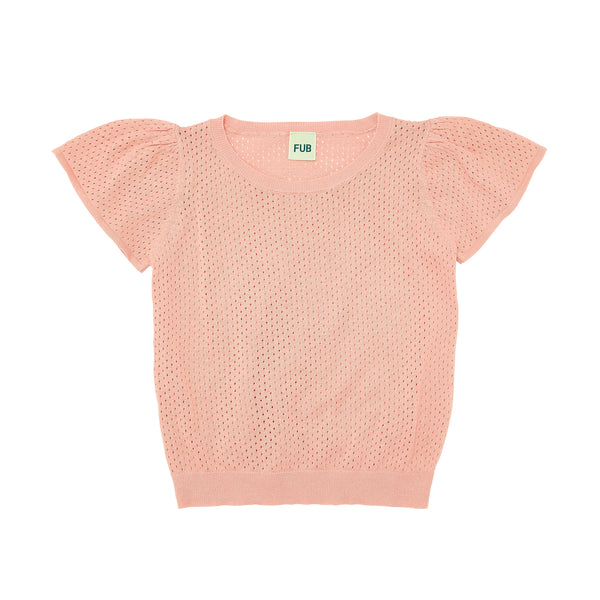 FUB t-shirt with butterfly sleeves