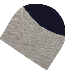 FUB hat in grey with navy top